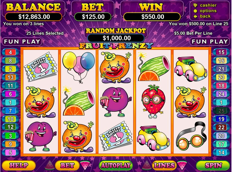 Play Slot Machines On Line